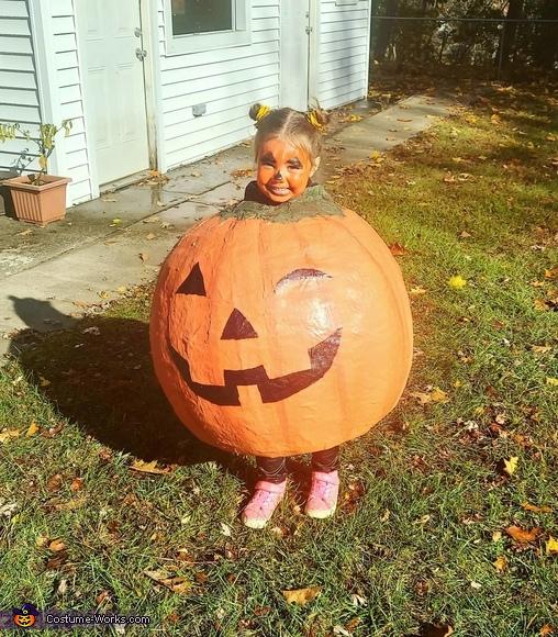 Baby Pumpkin Homemade Costume