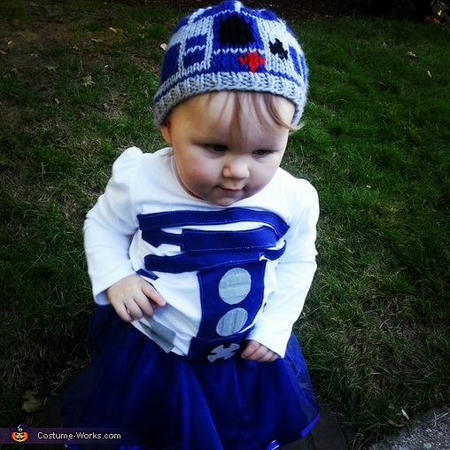 2 Cute R2, R2-D2 Baby Costume