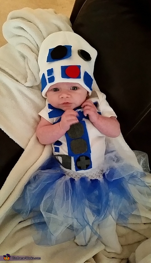 how to make r2d2 costume