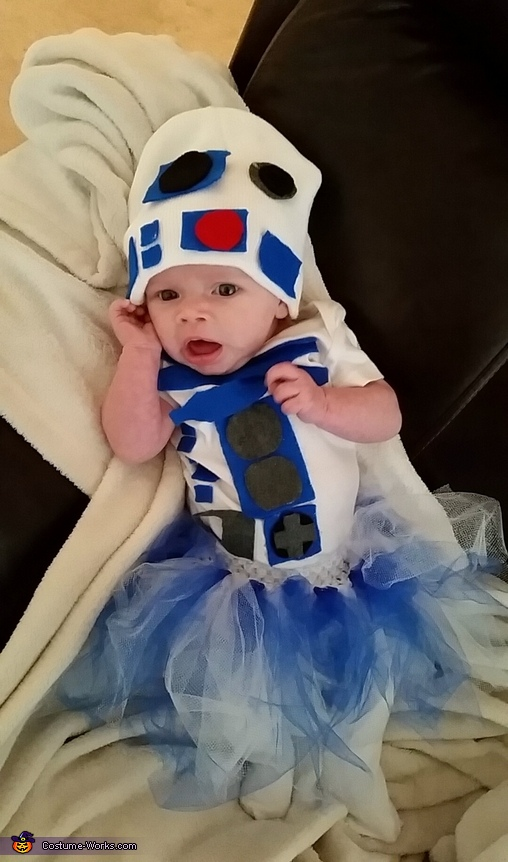 Future Star Wars fan, Baby R2D2 Costume
