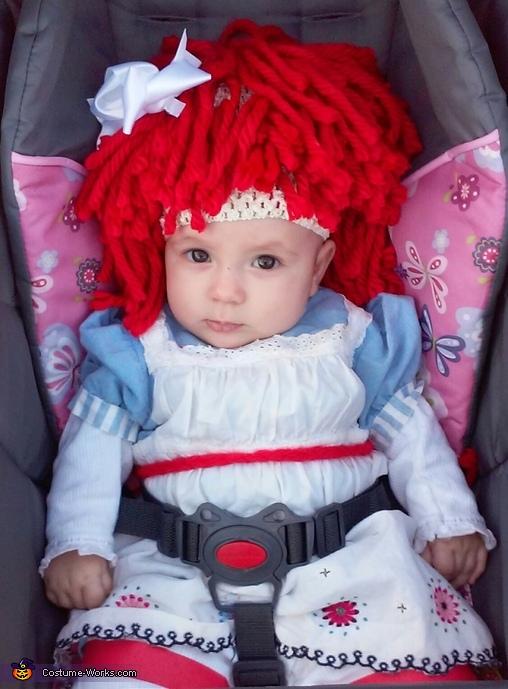 Baby Raggedy Ann Costume