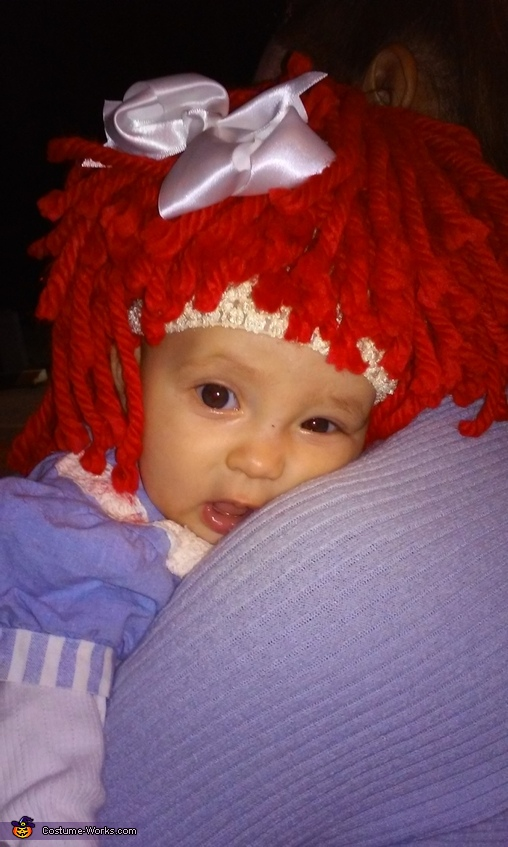 Someone is exhausted..., Baby Raggedy Ann Costume