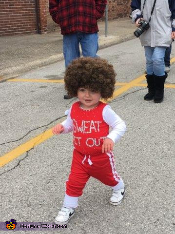 Baby Richard Simmons Homemade Costume