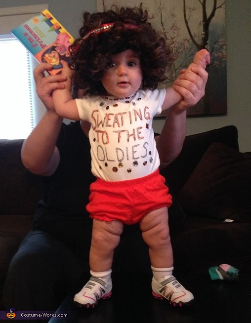 richard simmons costume diy. baby richard simmons costume diy