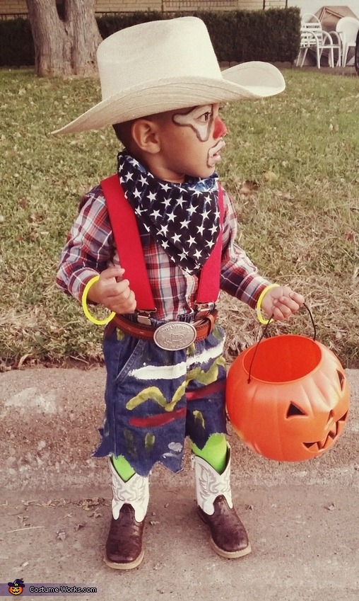 Baby Rodeo Clown Costume