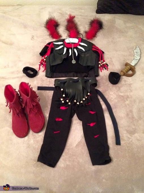 Rufio costume layout, Baby Rufio Costume