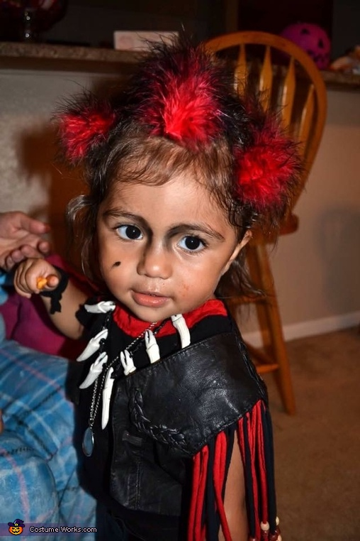 perfect match, even down to the mole, Baby Rufio Costume