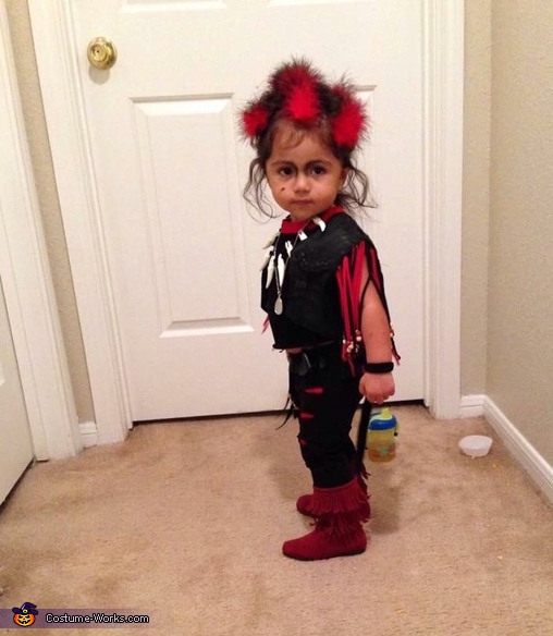 baby Rufio looking all fierce, Baby Rufio Costume