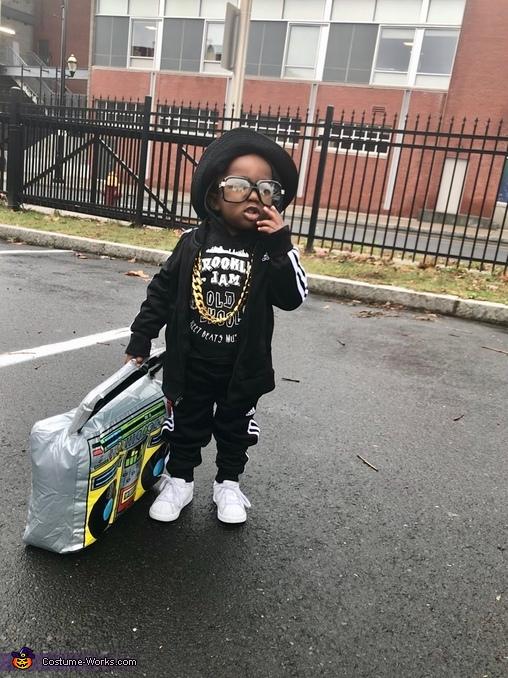 Baby Run Homemade Costume