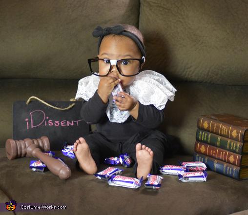 Baby Ruth Bader Ginsburg Costume