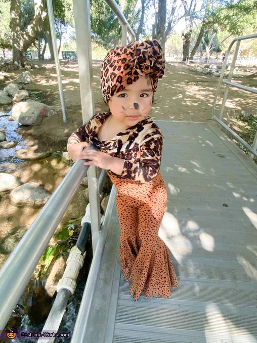 Baby Sally Homemade Costume