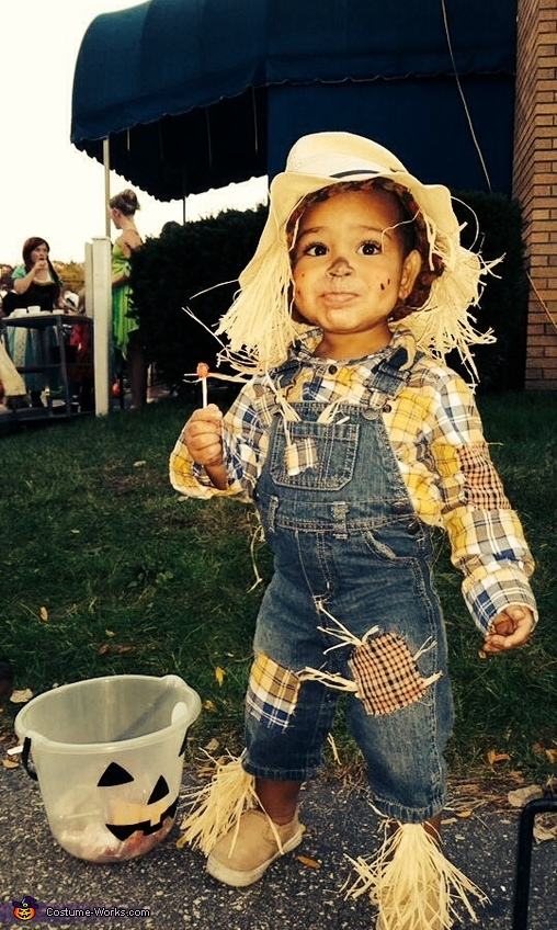 Cute Baby Scarecrow Costume