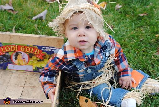 Baby Scarecrow Costume DIY