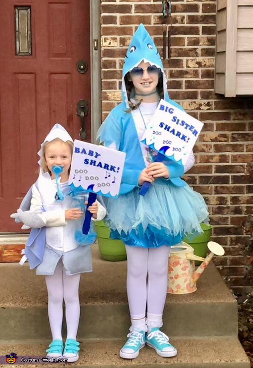 Big sis Shark & Baby Shark, Baby Shark Doo doo doo doo Costume