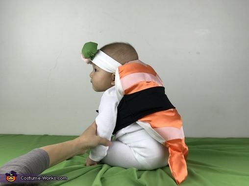 Baby Shrimp Sushi Homemade Costume