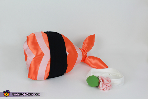 Baby Shrimp Sushi Homemade Costume