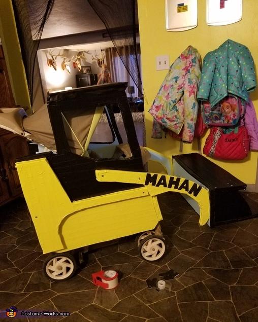 Baby Skid Steer Operator Costume