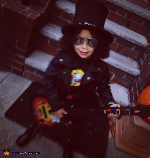 Baby Slash Homemade Costume