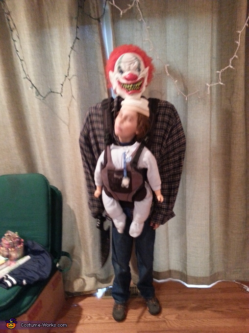 Baby Snatcher or Baby Abductor Illusion Homemade Costume