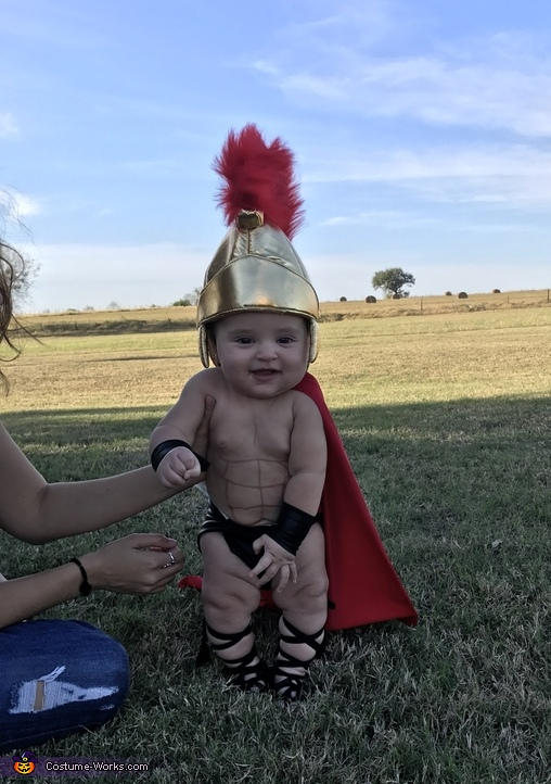 Baby Spartan Costume