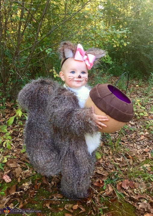 Baby Squirrel Costume  sc 1 st  Costume Works & Cutest Baby Squirrel Costume