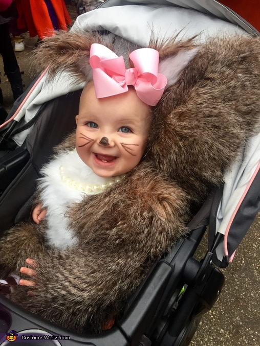 Did you know squirrels rode in strollers!?, Baby Squirrel Costume