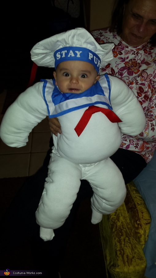 Baby Stay Puft Costume