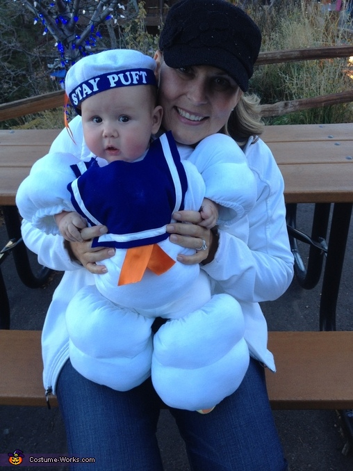 Baby Stay Puft Marshmallow Baby Costume