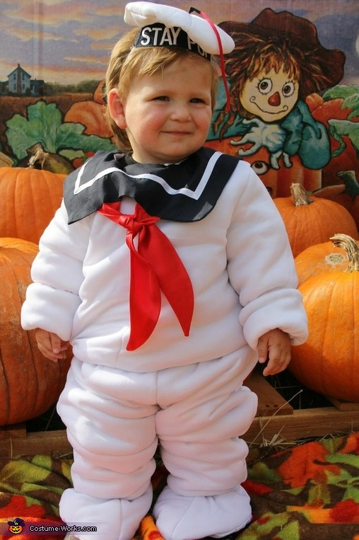 Baby Stay Puft Marshmallow Man Costume Diy