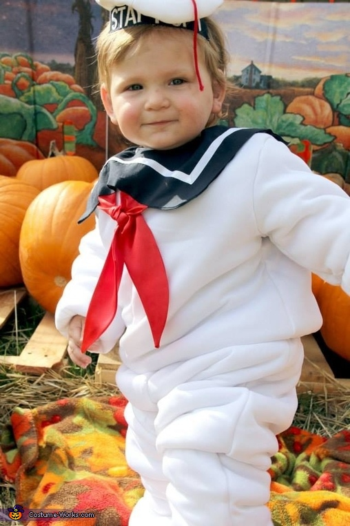 Baby Stay Puft Marshmallow Man, Baby Stay Puft Marshmallow Man Costume
