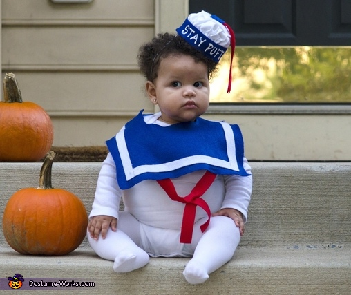 Stay Puft Marshmallow Man Costume for Babies