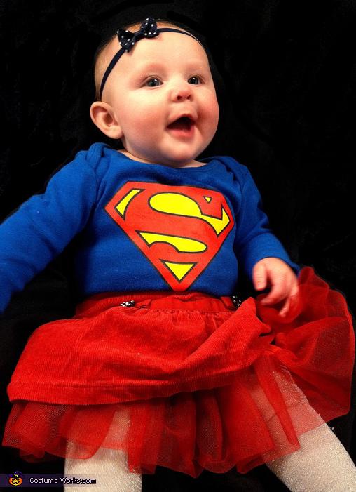 Baby Super Girl Costume