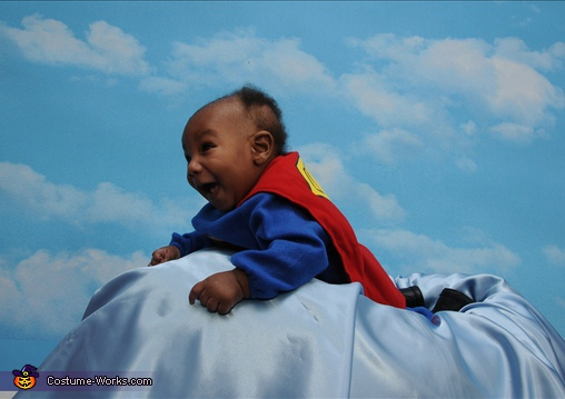 Baby Superman - Homemade costumes for babies