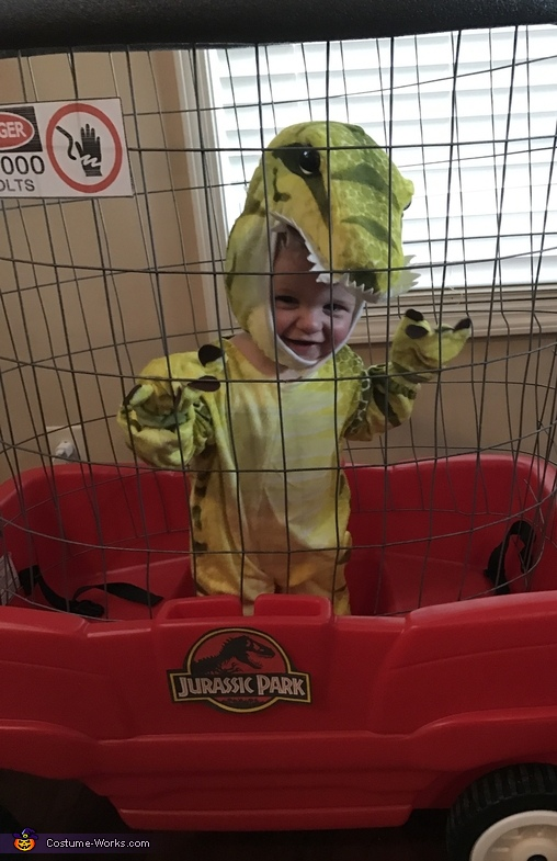Baby T-Rex Homemade Costume