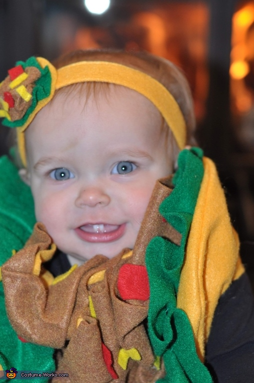 Baby Taco Homemade Costume