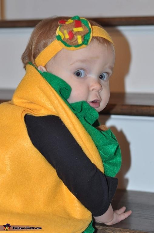Baby Taco Homemade Costume