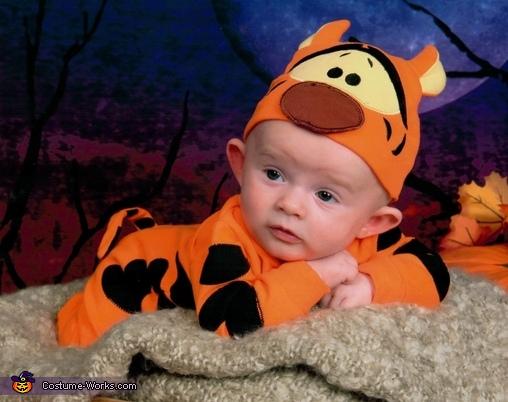 I'm listening, Baby Tigger Costume