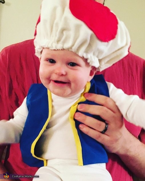 Baby Toad Costume