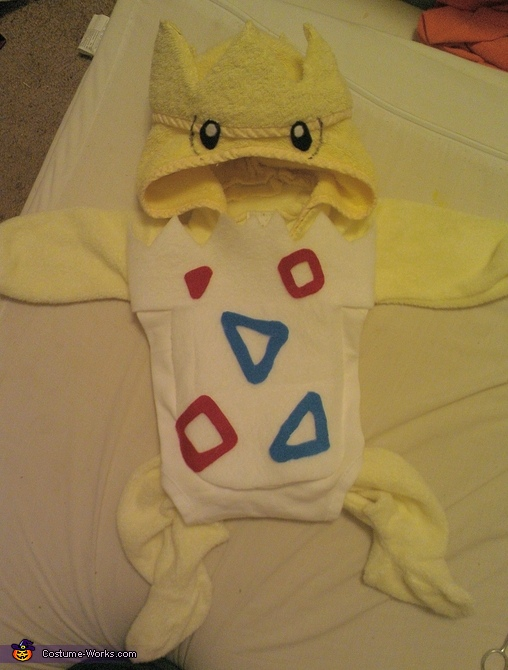 finished, Baby Togepi Pokemon Costume