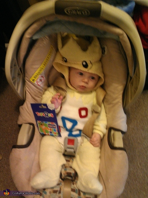 he won the neighborhood costume contesr, Baby Togepi Pokemon Costume