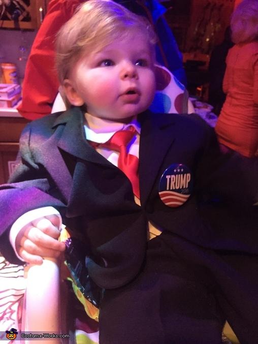 Baby Trump Costume