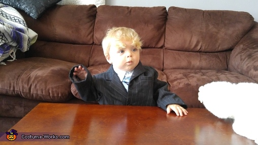 Baby Trump Homemade Costume