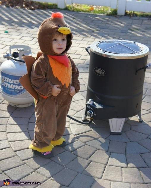 Baby Turkey Fryer Costume