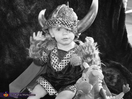 Baby Viking - Homemade costumes for babies