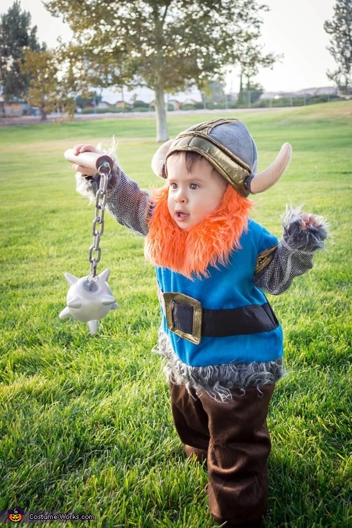Ready for battle!, Baby Viking Costume