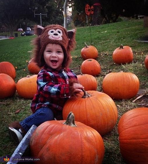 Baby Werewolf Costume