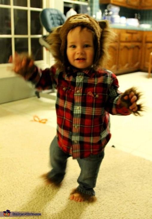 Baby Werewolf Homemade Costume