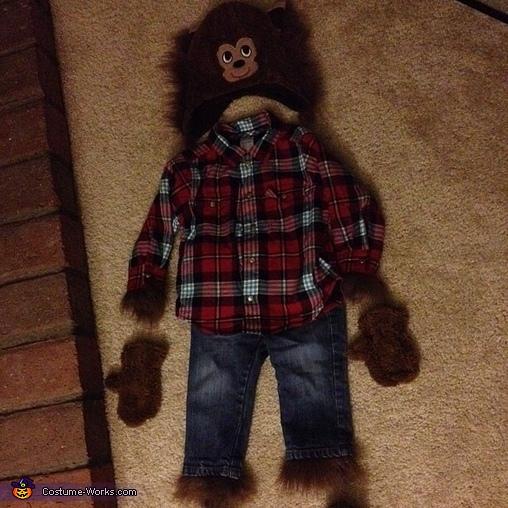 Baby Werewolf Halloween Costume