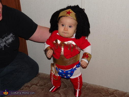 Baby Wonder Woman Costume Photo 2 of 3Wonder Woman Lego Costume
