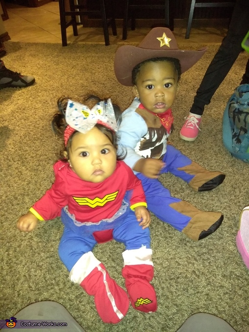 Woody and wonder woman, Baby Woody Costume